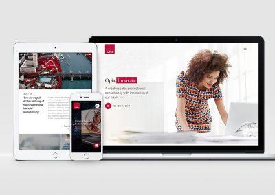 Opia.com – Brand / Digital Refresh